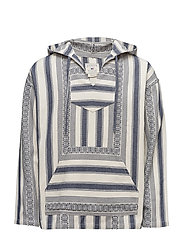 Maximillian Surfer Hood - ETHNIC STRIPE