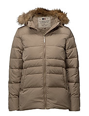 Bonnie Down Jacket - DUNE