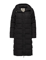 Alma Down Coat - CAVIAR BLACK