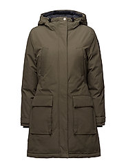 Pauline Down Coat - HUNTER GREEN