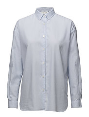Edith Lt Oxford Shirt 1 - BLUE/WHITE STRIPE