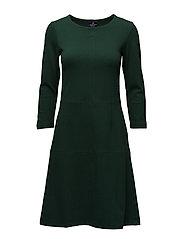 Michaela Jersey Dress - PINENEEDLE GREEN