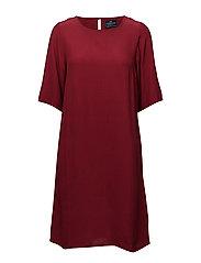 Grace Dress - RED DAHLIA