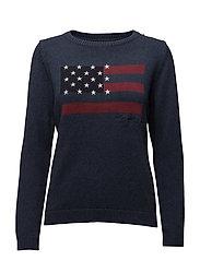 Lova Sweater 1 - DEEPEST BLUE