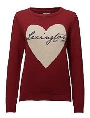Lova Sweater 3 - RED DAHLIA