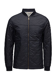 Tyler Quilted Jacket - DEEP MARINE BLUE