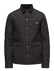 Hunter Quilted Jacket - CAVIAR BLACK