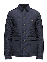 Hunter Quilted Jacket - DEEPEST BLUE