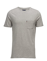 Travis Tee - HEATHER GRAY MELANGE