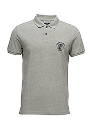 Oscar Polo - HEATHER GRAY MELANGE