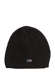 Oak View Beanie - CAVIAR BLACK