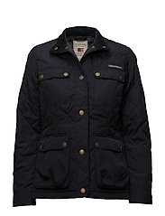 Hedda Quilted Jacket - Deep Marine Blue