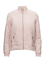 Greta Quilted Jacket - Veiled Rose Pink