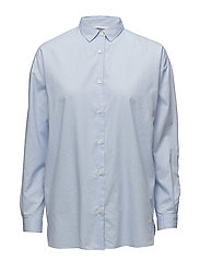 Edith Lt Oxford Shirt - Light Blue