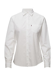 Emily Poplin Shirt - Bright White
