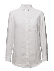 Isa Linen Shirt - Bright White