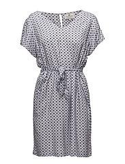 Kristina Printed Dress - Violet Summer Print