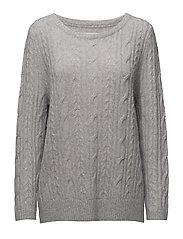 Lexington Company - Stella Mohair Cable Sweater