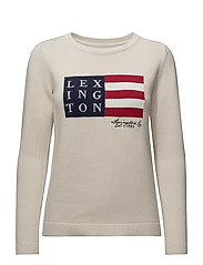 Lova Sweater - Shell White