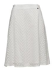 Helen Lace Skirt - Snow White