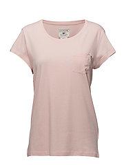 Ashley Jersey Tee - Veiled Rose Pink