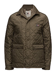 Hunter Quilted Jacket - Hunter Green