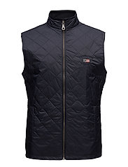Gregory Quilted Vest - Deep Marine Blue