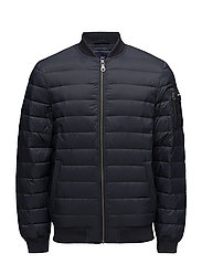 Aiden Bomber Down Jacket - Deep Marine Blue