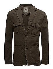 John Traveller Twill Jacket - Olive Night