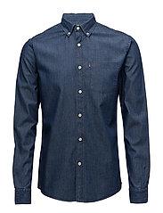 Taylor Indigo Shirt - Dk Blue Denim