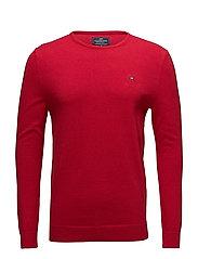 Bradley Crewneck Sweater - Chili Pepper Red