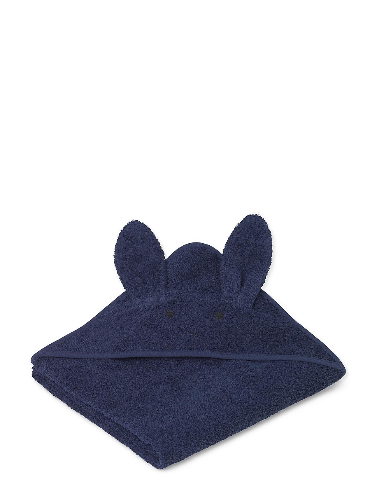Augusta Towel Rabbit Liewood Håndklæder & Badekåber til Børn i Navy blå