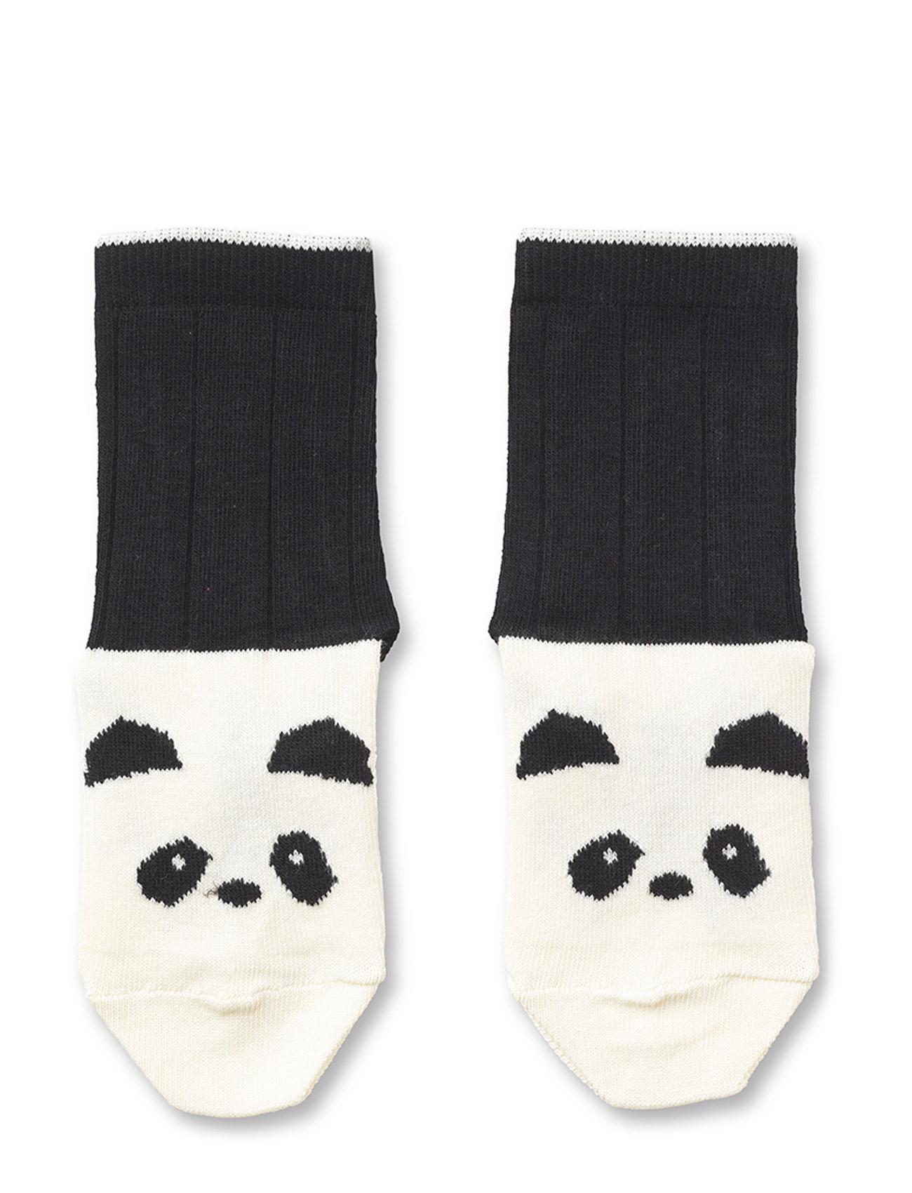 Socks Panda Liewood Strømper & Strømpebukser til Børn i Creme De La Creme