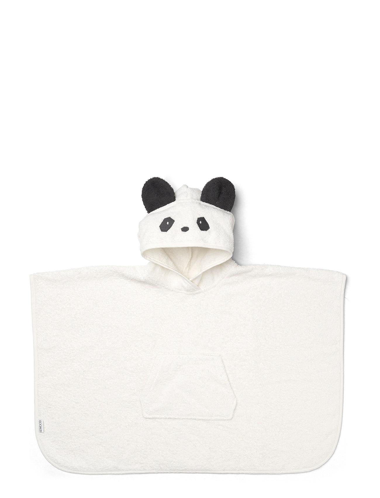 Orla Poncho Panda Liewood Håndklæder & Badekåber til Børn i Creme De La Creme