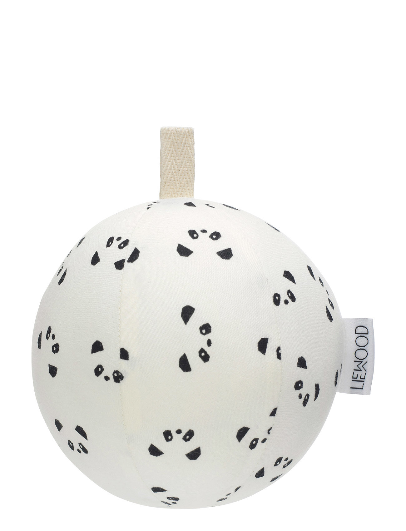 Julius Filled Woven Ball Big Liewood Baby accessories til Børn i Creme De La Creme
