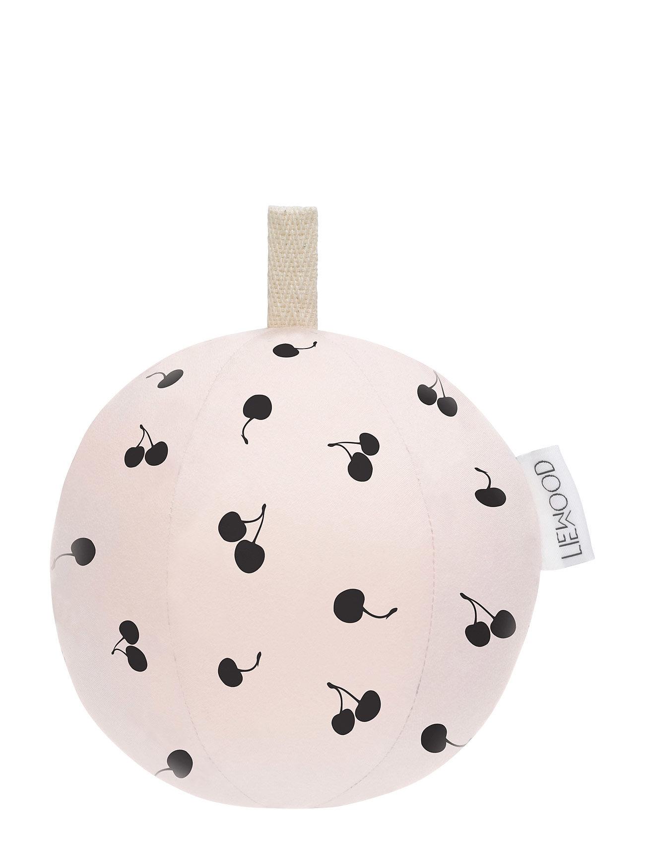 Julius Filled Woven Ball Big Liewood Baby accessories til Børn i Søde Rose