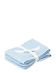Hannah muslin cloth 2 pack - BABY BLUE