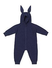 Knit jumpsuit - NAVY