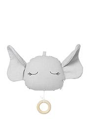 Alma music mobile elephant - DUMBO GREY