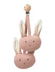 Rosa pram toy rabbit - RABBIT ROSE
