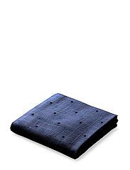 Hannah muslin cloth 2 pack print - DARK GREY