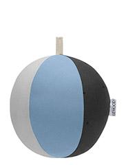 Woven ball Dusty blue-grey mix - DUSTY BLUE, GREY MIX