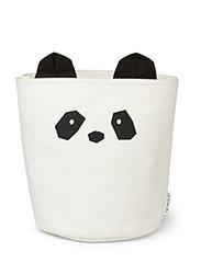 Ella fabric basket Panda - CREME DE LA CREME