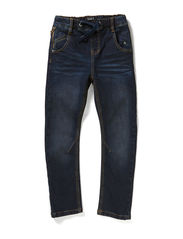 EBOT KIDS DNM REG/SLIM PANT LMTD 5XAU14 - Dark Blue Denim