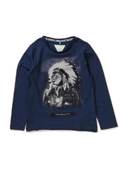 NAT KIDS LS TOP BOX 514 - Dress Blues