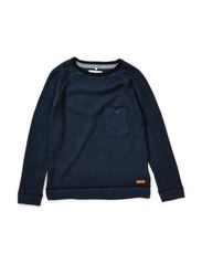 LARS KIDS LS KNIT LMTD 5 X AU14 - Dark Denim