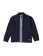 LUCCA KIDS LS KNIT CARD LMTD 5 X AU14 - Dark Denim
