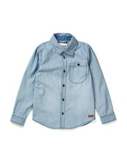 LAUST KIDS LS SHIRT LMTD 5 X-AU14 - Cloud Dancer