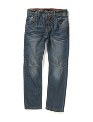 EFRON KIDS DNM REG/SLIM PANT LMTD5XAU14N - Dark Blue Denim