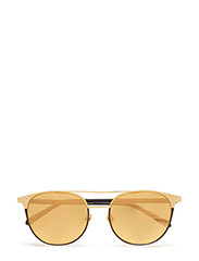 LINDA FARROW 421 C5 - YELLOW GOLD / BLACK RIM